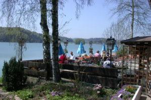 Biergarten am Seehamer See