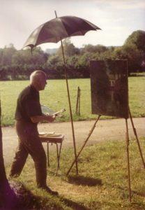 Der Maler Rudolf Groeschel